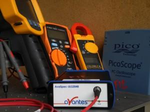 Photonic FabLab: moyens de mesure