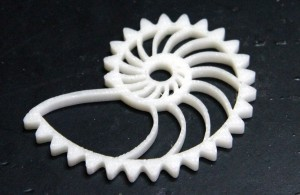 Photonic FabLab: impression 3D nautilus
